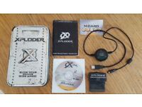 RARE Xploder SP Professional cheat cartridge for Game Boy Advance GBA SP