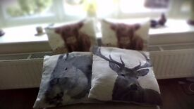 4 cushions for sale