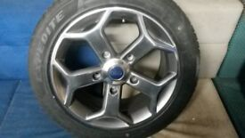"""18"""" FORD TRANSIT ST STYLE ALLOY WHEELS / NEW TYRES"""
