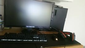 Full gaming pc setup