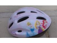 Disney princess helmet - safety for bikes, scooters, heelies etc. Size S. In excellent condition