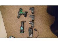 Hitachi Drill and Torch
