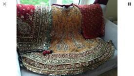 Bridal saloon designer wedding lengha