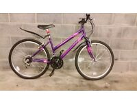 FULLY SERVICED WOMAN APOLLO OUTRIDER BICYCLE