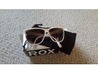 White Roxy Womens Sunglasses