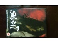 mangas 2 boxsets samuri 7 ,7 dvds perfect condtion and broken saints as new dvds £20