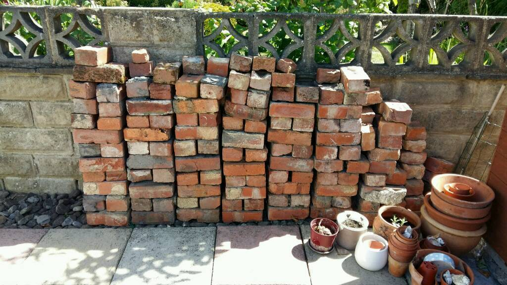 Free bricksin Otley, West Yorkshire - Approximately 250 used bricks. Left over from house after renovations. Would be great for raised beds or small project. Thanks for looking