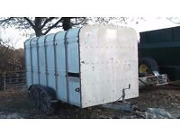Ifor Williams Live Stock Trailer 12ft x 6ft