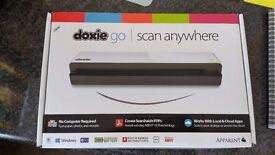 Doxie Go Portable Document Scanner Compact / Mobile