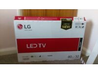LG 32 inch LED TV brand new still in the box