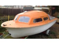15ft boat for sale come with trailer and engine