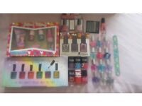 Children's nail varnish and nail art sets various