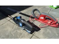 2 x Hedge Trimmer Battery and Electric