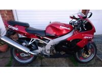 Zx9r C2 in stunning candy red
