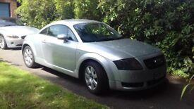 Audi TT - sell or swap/ estate car, van or even a vespa - why ??