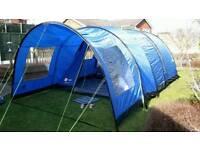Hi Gear Rock 5 person tent, canopy, carpet & groundsheet