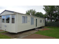 Privately owned luxury 8 berth caravan to rent.