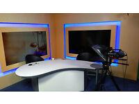 Fully Operational TV Studio In Park Royal Near Hangar Lane For Rent