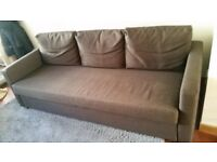 Sofa-bed for sale, very good condition, bought 1 year ago from Ikea