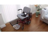 Rascal Ultralite powered wheelchair