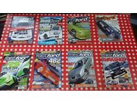 Selection of Fast Ford Car Magazines Assorted Issues