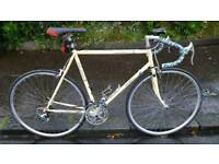 Shimano Triathlon Road Bicycle For Sale, Reynolds 531 Steel, 105 Components, Great Riding Order