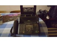 Panasonic Fax Telephone And Answering Machine.
