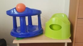 Babybath Seat and Pot