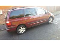 Ford Galaxy 1.9tdi Ghia 130bhp 7 seater in excellent condition with full service history and new mot