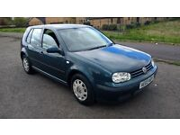 volkswagen golf e 1.4 5door hatchback 2003 03 plate