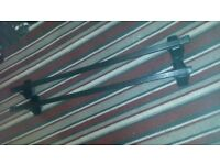 car bars thule no 761,120cm good condition ready to use