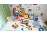 Baby soft toy bundle