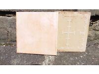 """55 Italian peach coloured 6""""x6"""" tiles"""