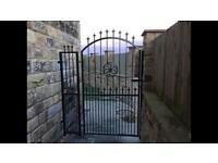 Wrought iron Gates and railings made to measure and fitting services.