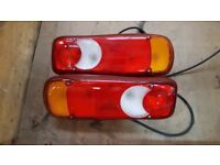 Renault D Range Rear Light Clusters