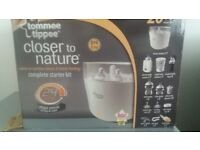 Unused Tommee Tippee steriliser bottle warmer and more
