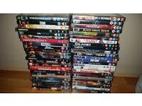 Large DVD Bundle (53 Dvds)