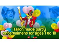 * CLOWN Kids Entertainer MASCOT birthday party Balloon Modeller Childrens MAGICIAN hire FACE PAINTER