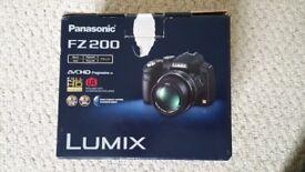 Panasonic Lumix FZ200 digital bridge camera
