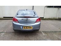 Vauxhall Insignia 2010 Half Leather silver 157 Diesel Auto. Full Dealer Service