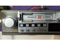 Pioneer ke 5300 Car Stereo Cassette and pioneer bp 520 graphic equaliser