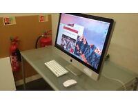 "Apple Imac 27"", 3.06GHz CPU + 8GB ram + 1TB HDD + DVD Writer Computer"