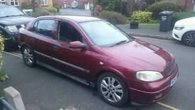 Vauxhall astra 1.8 16v
