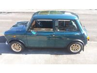 Classic Low Milage Mini with Two sets of wheels
