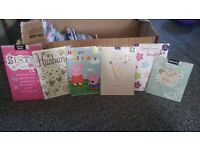 Birthday, wedding, congratulations cards new sealed hallmark x 150+! £20 for the lot