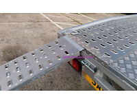 200cm*30cm STANDARD Loading Ramps Ramp Recovery truck van Alloy Decker trailer 2 tone punched