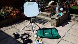 QuickSAT QS65 Portable Satellite TV System