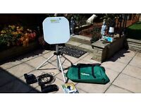 QuickSAT QS65 Portable Satellite TV System