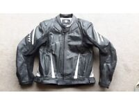 Revit leather motorcycle jacket and trousers