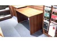 walnut office desk. allmost new.